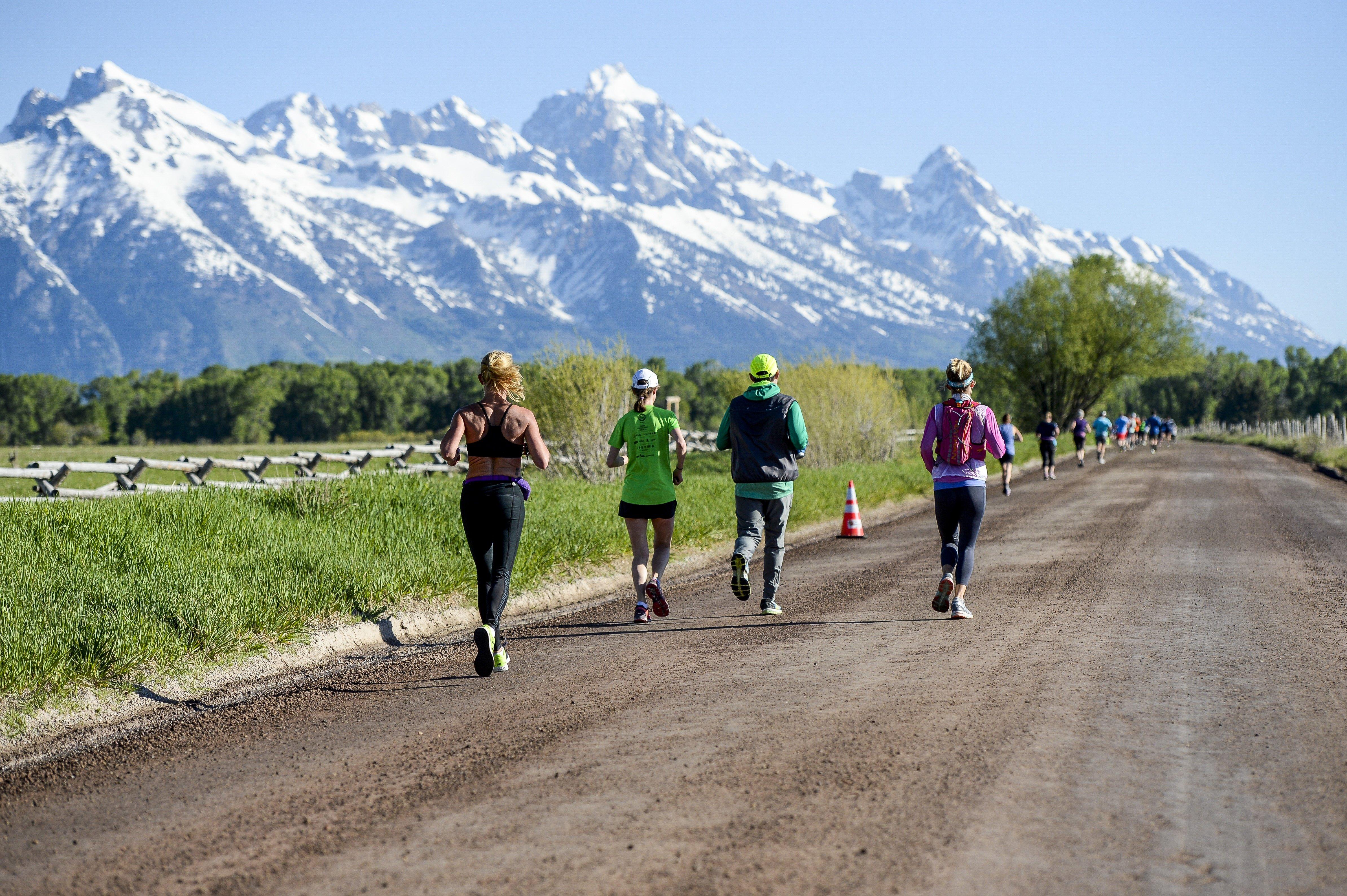Grand Teton Half Marathon Amp 5k 187 Vacation Races