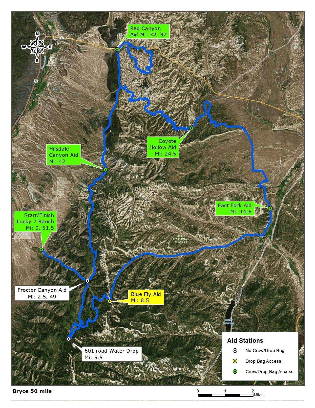 Bryce Canyon Ultra Marathons 187 Vacation Races