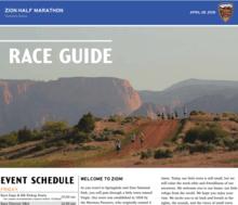 Image of 2018 Zion Half Marathon Race Guide