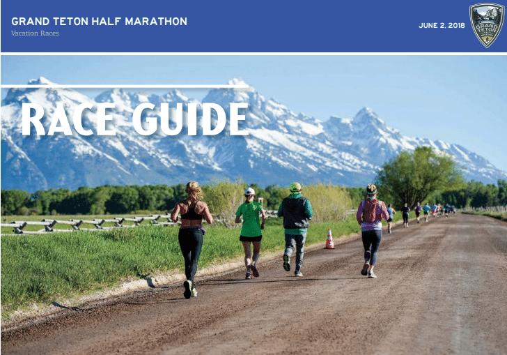 2018 Grand Teton Half Marathon Race Guide 187 Vacation Races
