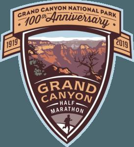 Grand Canyon Half Marathon Logo 2019