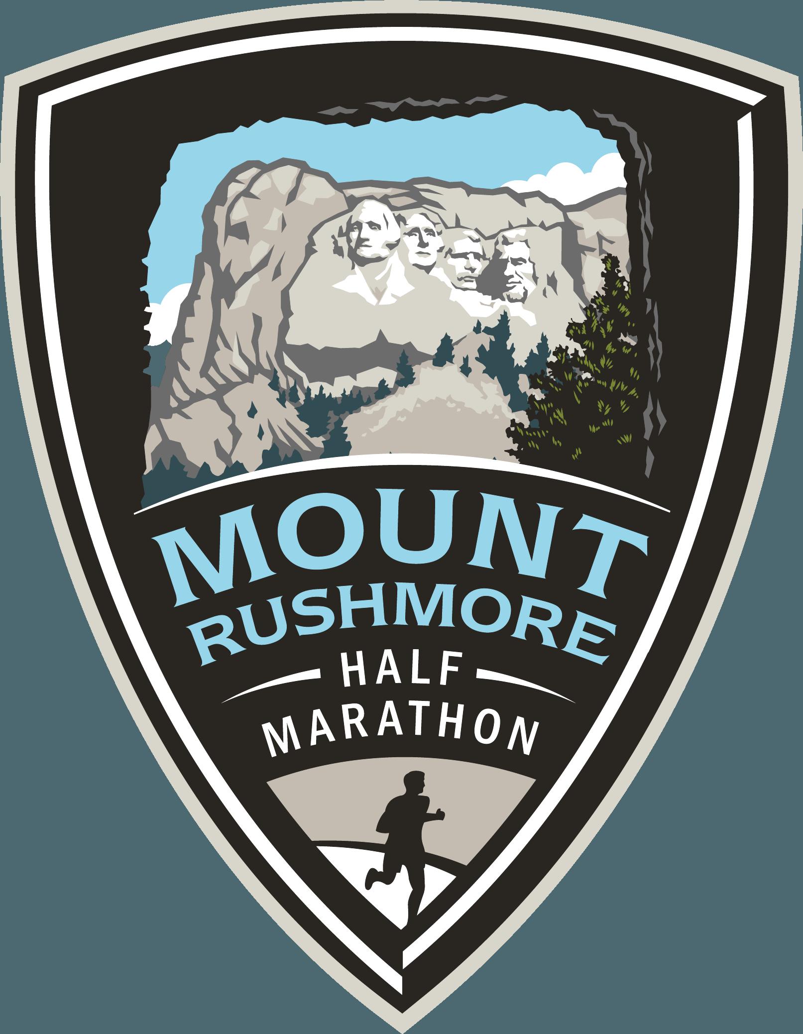 Mt. Rushmore Half Marathon logo