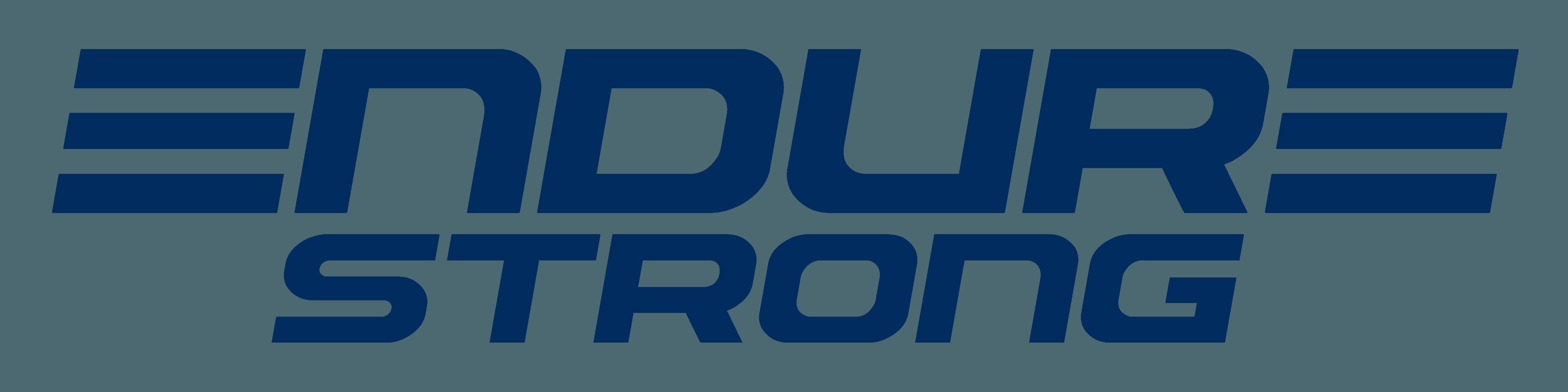 Endure Strong Logo All Dark Blue