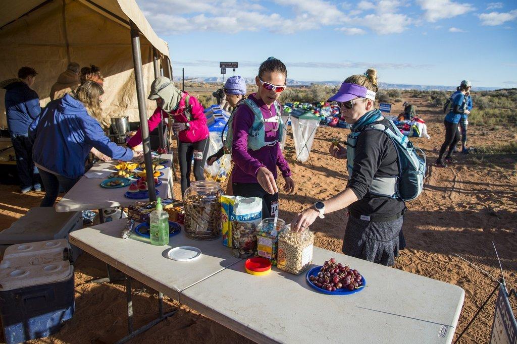 Ultra Marathon Aid Station