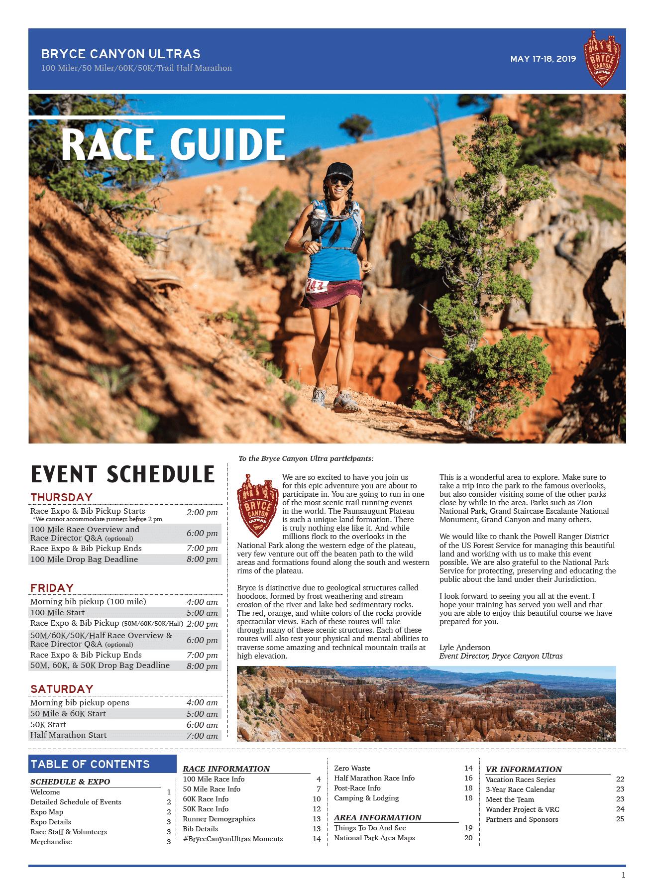 Bryce Canyon Ultra Marathons » Vacation Races