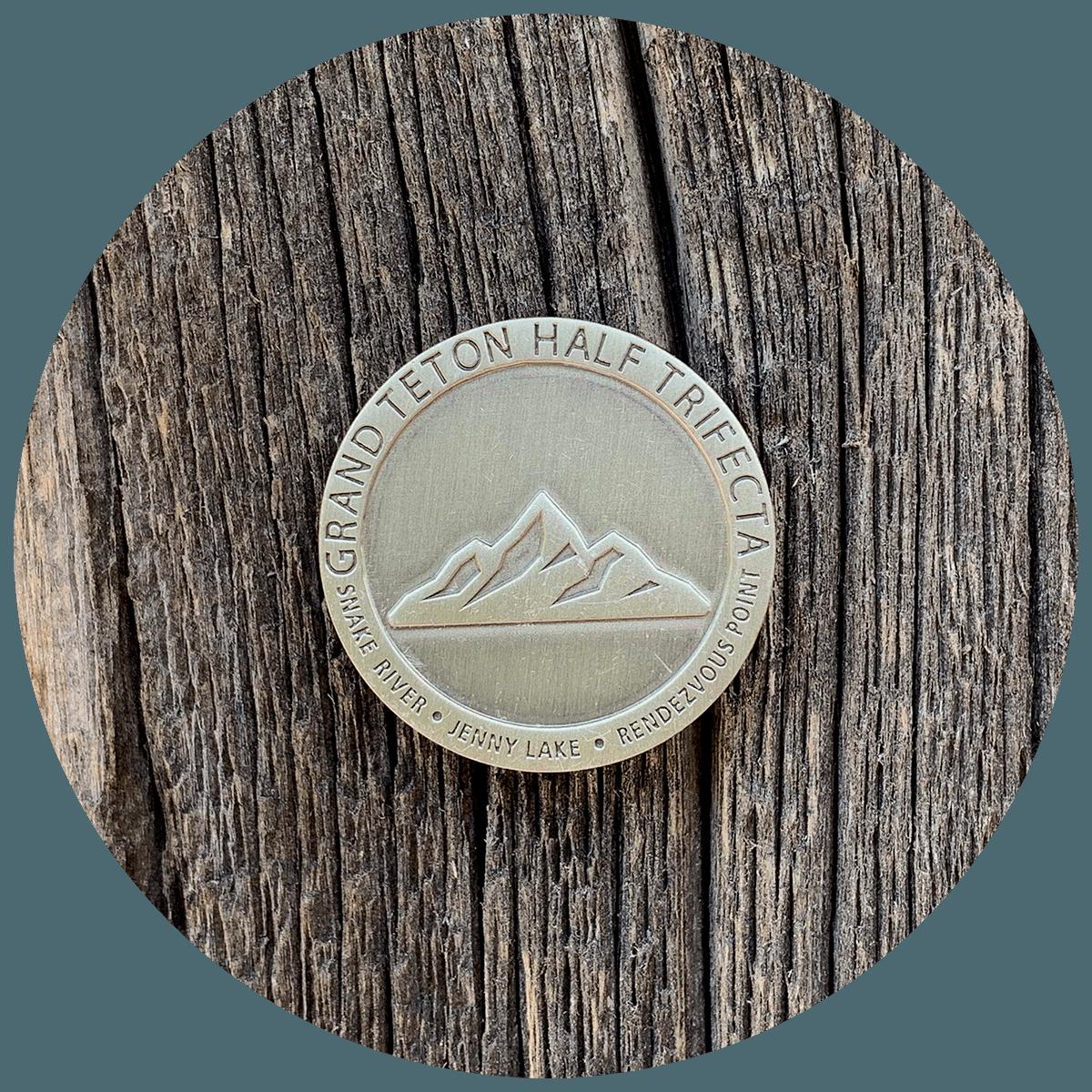 Grand Teton Trifecta Pin