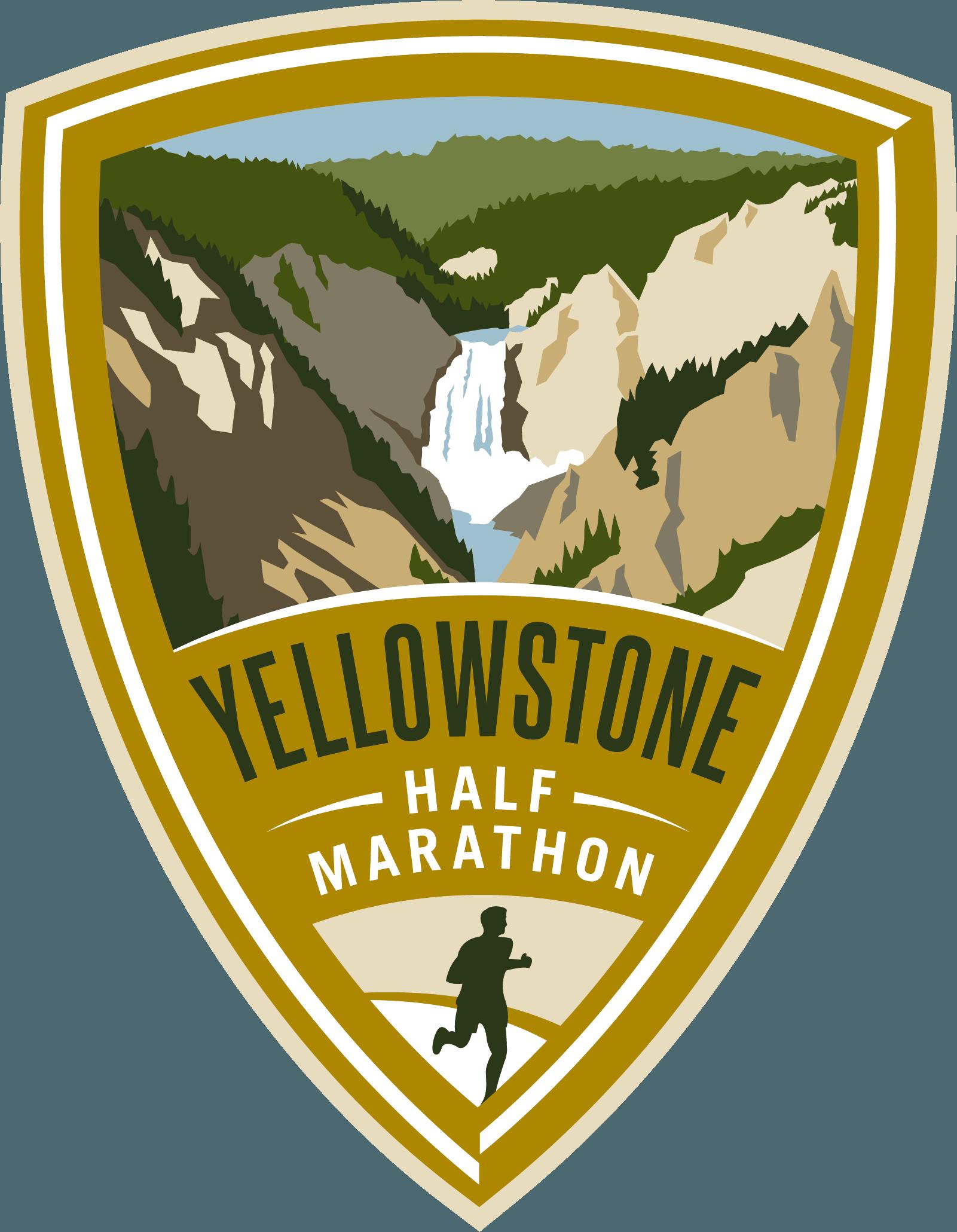 Yellowstone Half Marathon logo