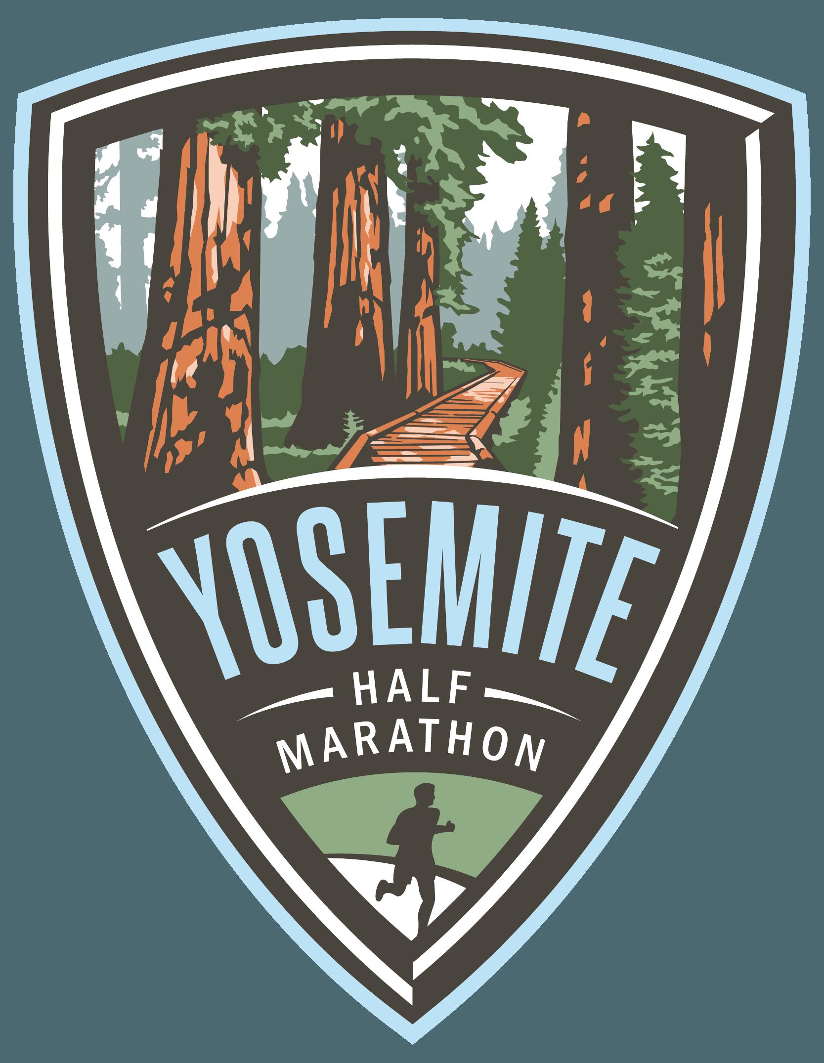 Yosemite Half Marathon logo