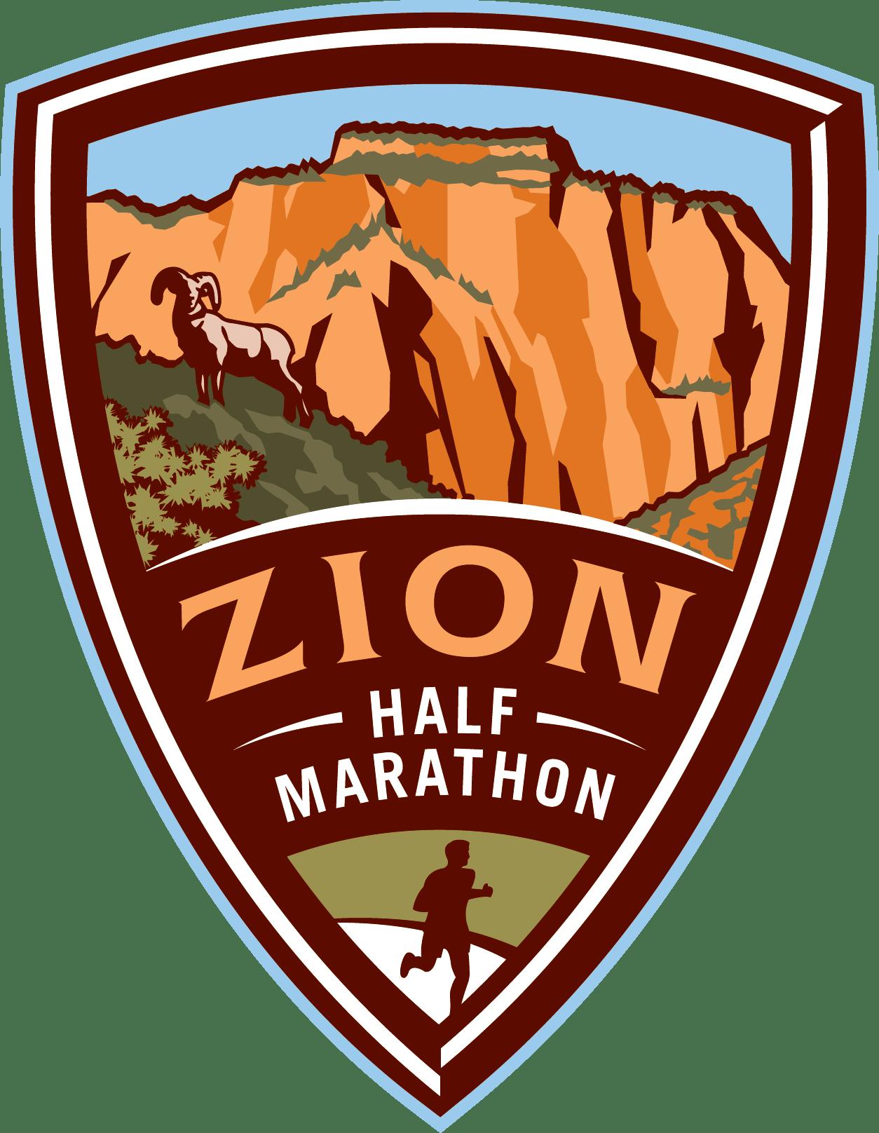 2021 Zion Half Marathon Logo